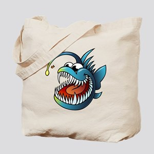 Cartoon Angler Fish Tote Bag