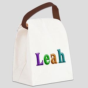 Leah Shiny Colors Canvas Lunch Bag