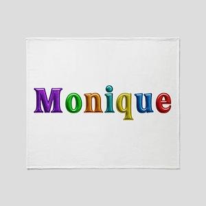 Monique Shiny Throw Blanket