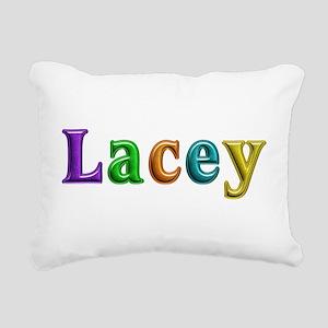 Lacey Shiny Colors Rectangular Canvas Pillow