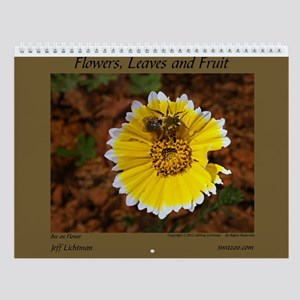 Flowers, Leaves and Fruit Wall Calendar