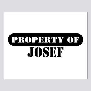 Property of Josef Small Poster