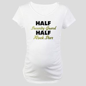 Half Security Guard Half Rock Star Maternity T-Shi