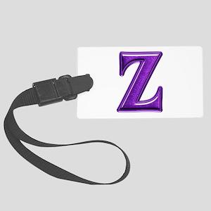 Z Shiny Colors Large Luggage Tag