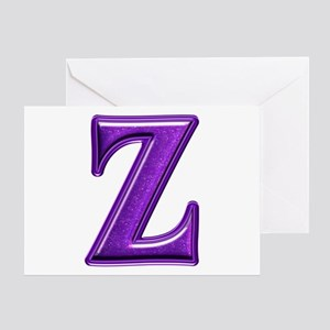 Z Shiny Colors Greeting Card