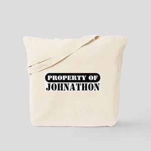 Property of Johnathon Tote Bag