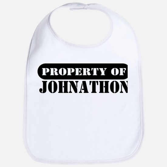 Property of Johnathon Bib