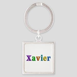 Xavier Shiny Colors Square Keychain