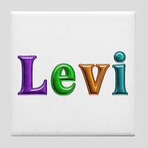 Levi Shiny Colors Tile Coaster