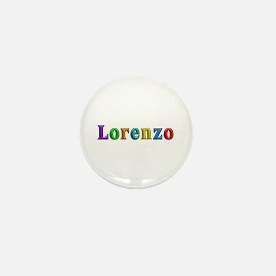 Lorenzo Shiny Colors Mini Button