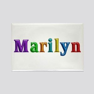 Marilyn Shiny Colors Rectangle Magnet