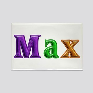 Max Shiny Colors Rectangle Magnet