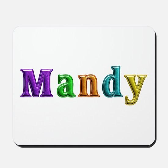 Mandy Shiny Colors Mousepad