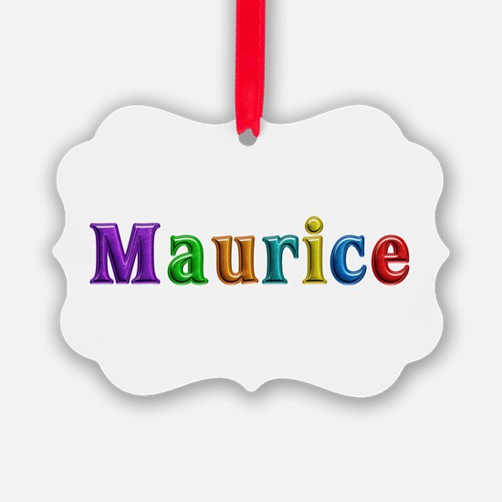 Maurice Shiny Colors Ornament