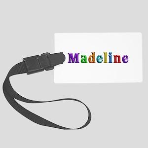 Madeline Shiny Colors Large Luggage Tag