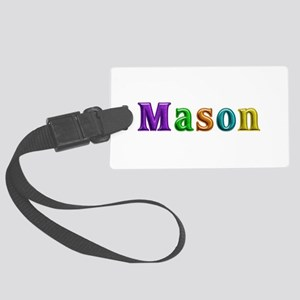 Mason Shiny Colors Large Luggage Tag