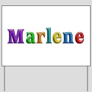Marlene Shiny Colors Yard Sign