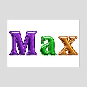 Max Shiny Colors Mini Poster Print