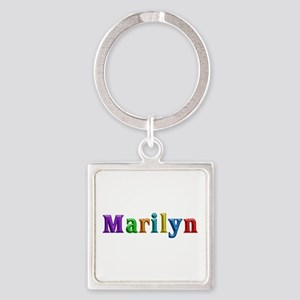 Marilyn Shiny Colors Square Keychain