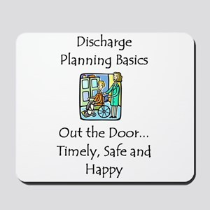 Discharge Planning Mousepad