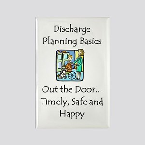 Discharge Planning Rectangle Magnet