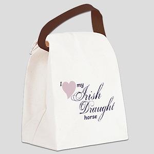 I love my Irish Draught horse Canvas Lunch Bag