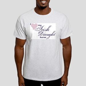 I love my Irish Draught horse T-Shirt