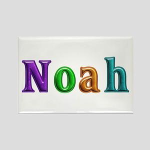 Noah Shiny Colors Rectangle Magnet