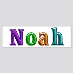 Noah Shiny Colors Bumper Sticker