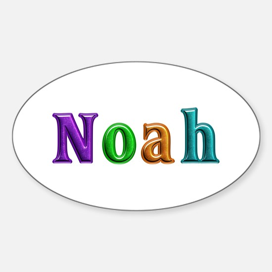 Noah Shiny Colors Oval Decal