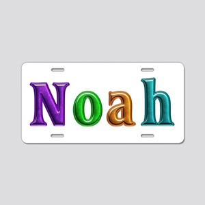 Noah Shiny Colors Aluminum License Plate