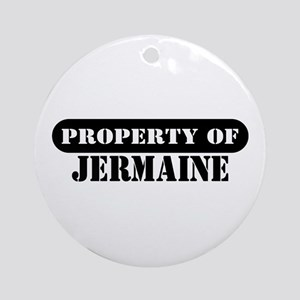 Property of Jermaine Ornament (Round)