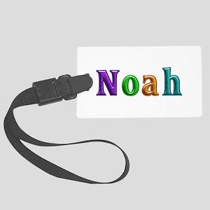 Noah Shiny Colors Large Luggage Tag