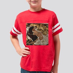 Egon Schiele Death And The Wo Youth Football Shirt