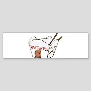 Sum Dum Fuk Bumper Sticker