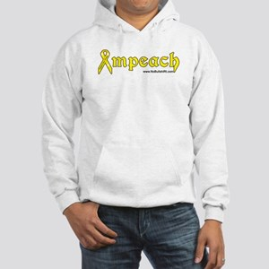 Yellow Ribbon Support Our Troops Impeach Hoodie