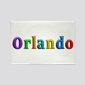 Orlando Shiny Colors Rectangle Magnet