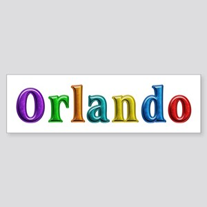 Orlando Shiny Colors Bumper Sticker