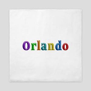 Orlando Shiny Colors Queen Duvet