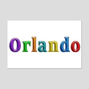 Orlando Shiny Colors Mini Poster Print