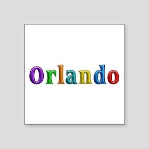 Orlando Shiny Colors Square Sticker