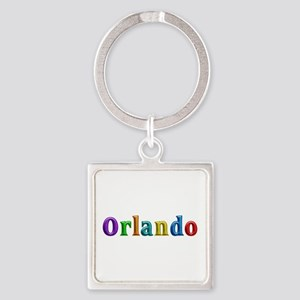 Orlando Shiny Colors Square Keychain