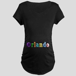 Orlando Shiny Colors Maternity Dark T-Shirt