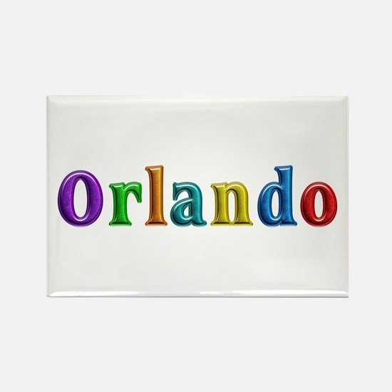 Orlando Shiny Colors Rectangle Magnet 100 Pack