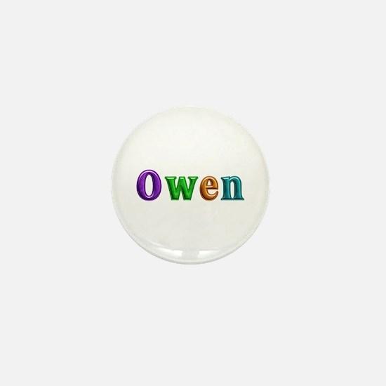Owen Shiny Colors Mini Button