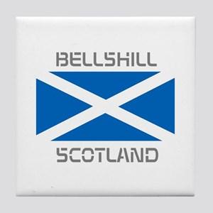 Bellshill Scotland Tile Coaster
