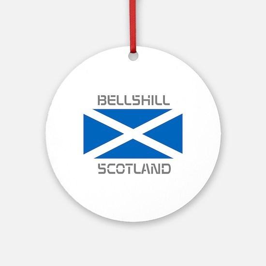Bellshill Scotland Ornament (Round)