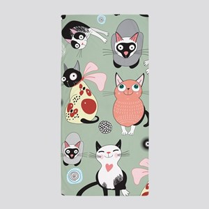 Cute Cats Beach Towel