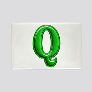 Q Shiny Colors Rectangle Magnet