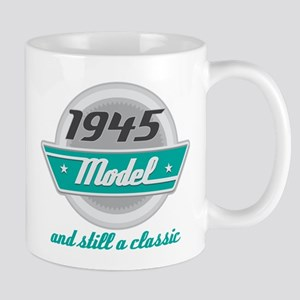 1945 Birthday Vintage Chrome Mug